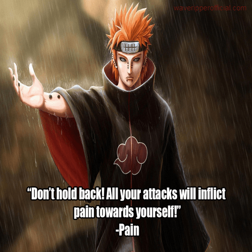 Naruto quotes pain 4