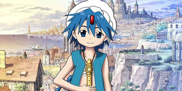 Aladdin anime-Magi