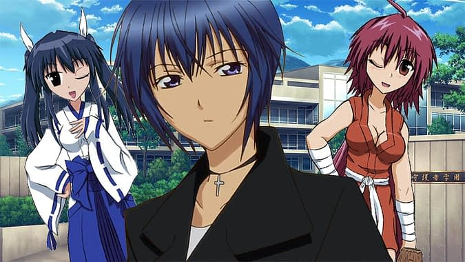 Nagasarete Airantou best harem anime