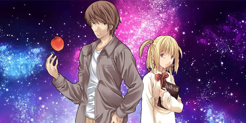 Light and Misa cute anime couples