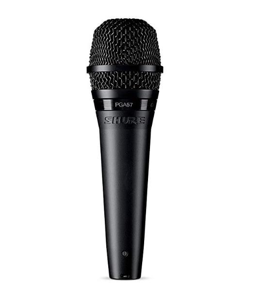 best studio microphones for youtube, xlr microphones, shure pga57, sm57, sm58, pg58