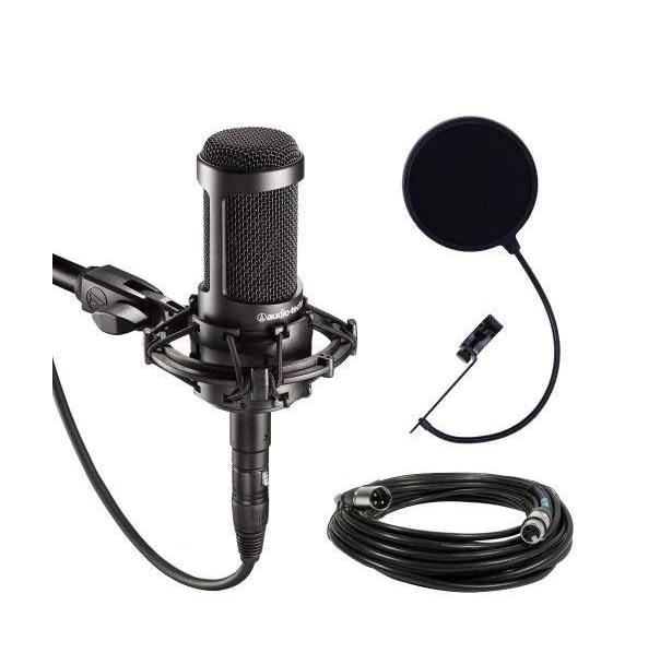 best studio microphones for youtube, xlr microphones, audio technica at2035
