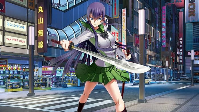 HighSchool of the Dead - Anime Characters with Long Hair