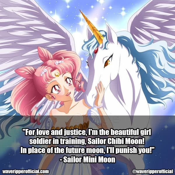 Sailor Mini Moon quotes | 35+ Most Meaningful Sailor Moon Quotes That Are Absolute Must Read