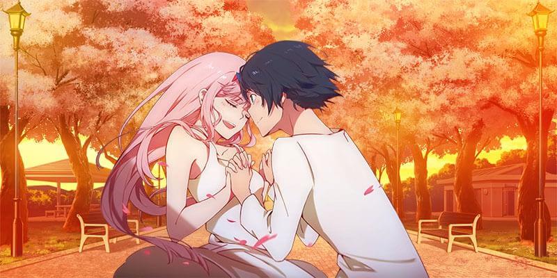 Zero Two and Hiro anime couples