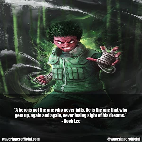 rock lee quotes 1