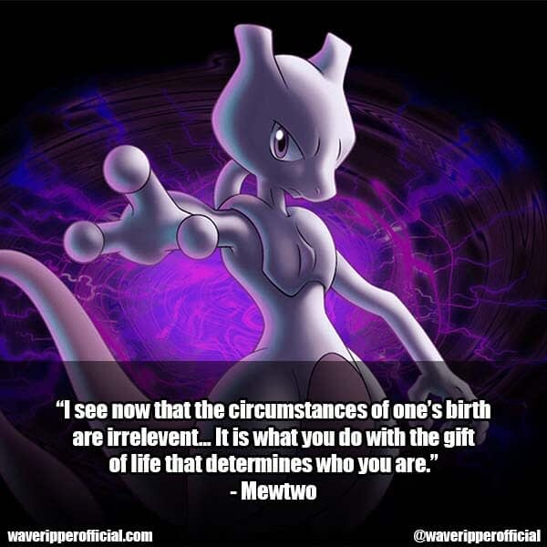Mewtwo quotes 1