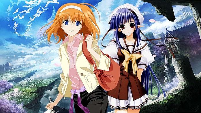 Shuffle anime show