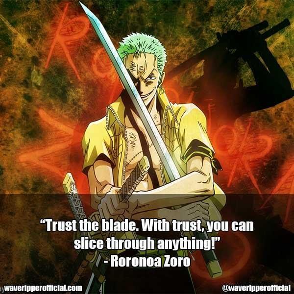 Roronoa Zoro quotes
