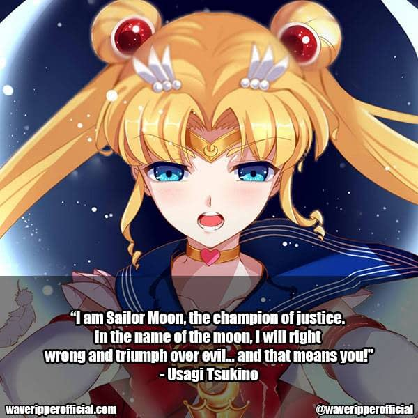 Usagi Tsukino quotes 6 | 35+ Most Meaningful Sailor Moon Quotes That Are Absolute Must Read