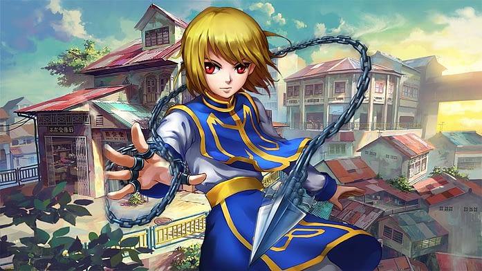 Kurapika Hunter X Hunter anime series