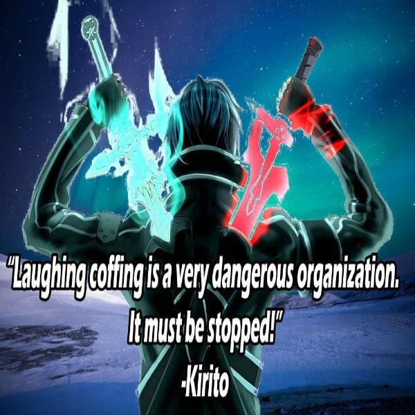 11 Inspirational Sword Art Online Quotes