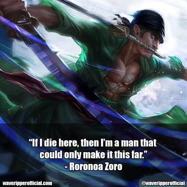 Roronoa Zoro quotes 7