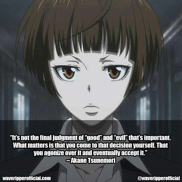 Psycho Pass Quotes