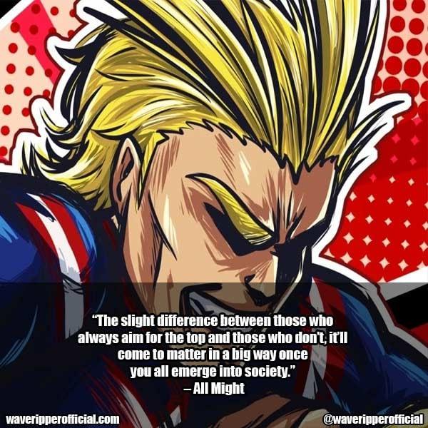 My Hero Academia Quotes