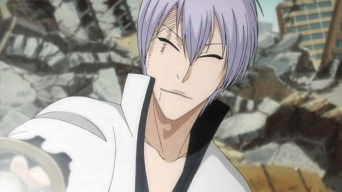 Lazy smiling bloke Gin Ichimaru