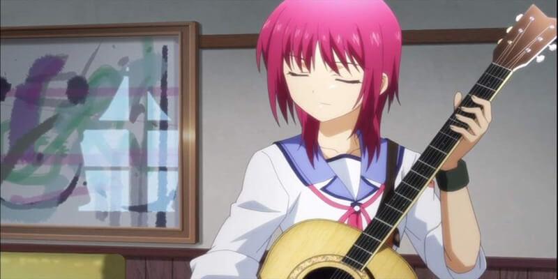 Masami Iwasawa best anime characters  from Angel Beats