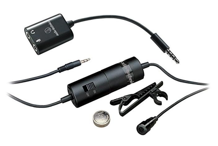 best lavalier mics for youtube, audio technica atr3350is