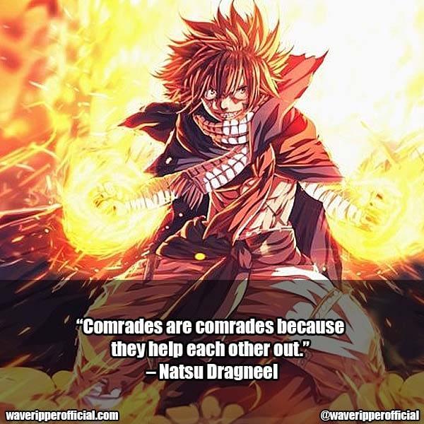 Natsu Dragneel Quotes 8