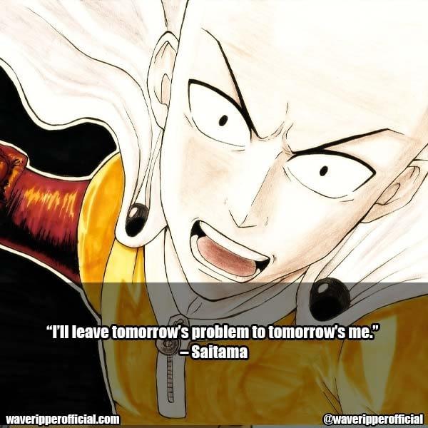Saitama Quotes 5
