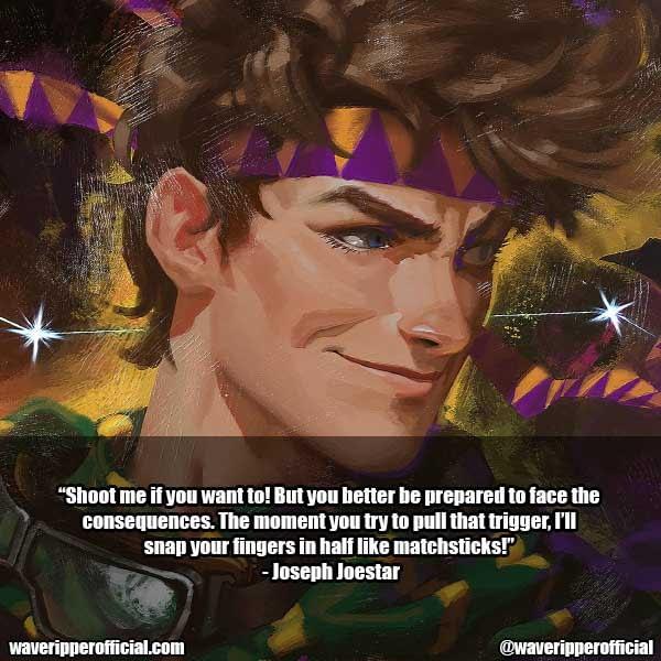 Joseph Joestar quotes 1