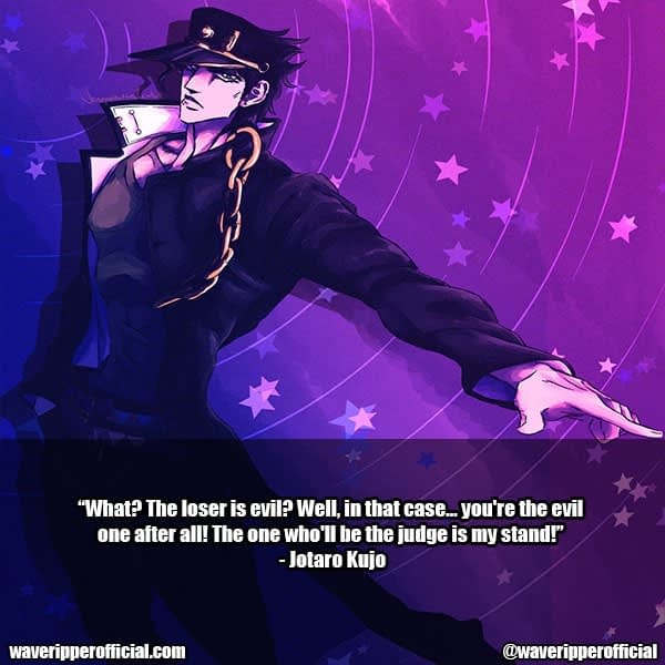 Jotaro Kujo quotes 2