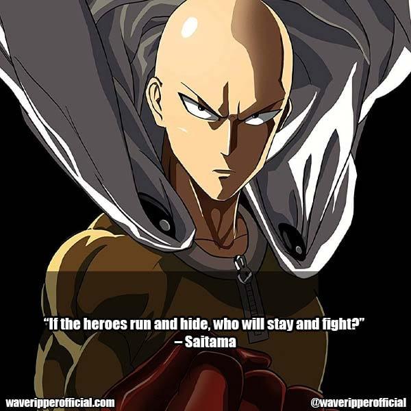Saitama Quotes 3
