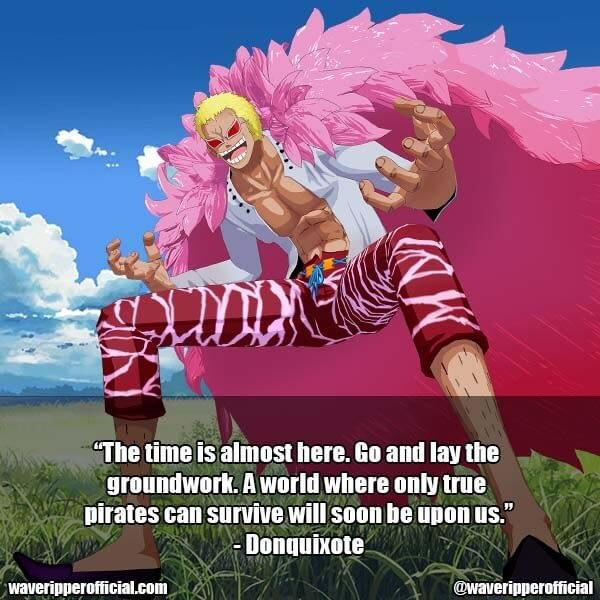 Donquixote Doflamingo quotes 1