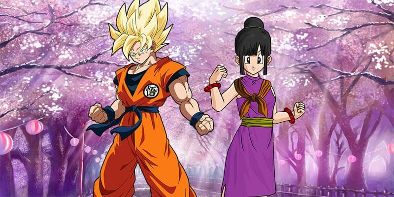 goku and chichi couple