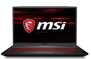 MSI GF: best gaming laptop