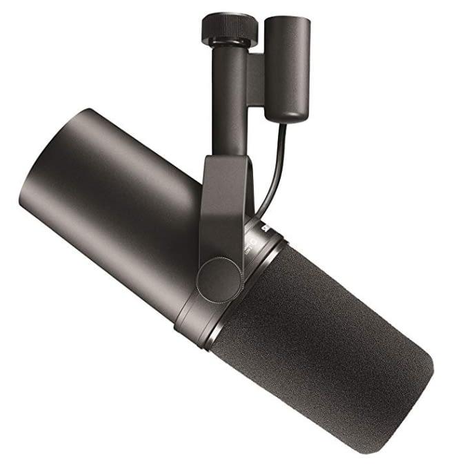 best studio microphones for youtube, xlr microphones, shure sm7b