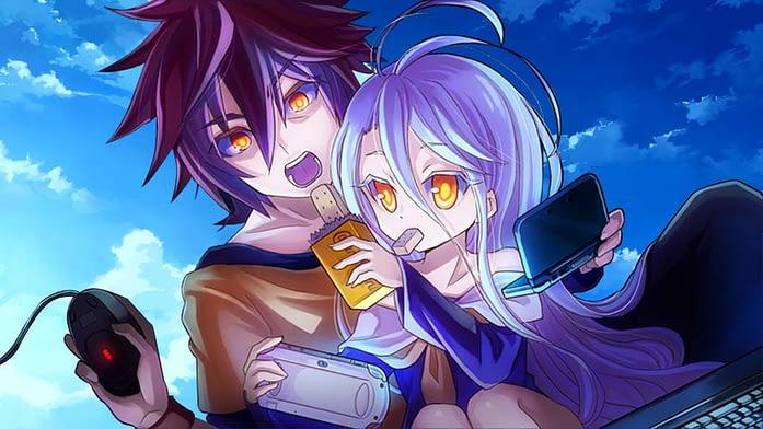 No Game No Life - Sora and Shiro