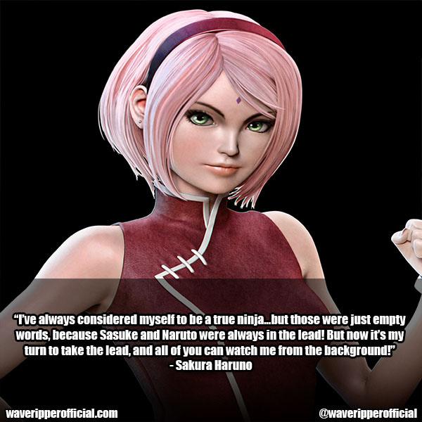 sakura haruno quotes 3