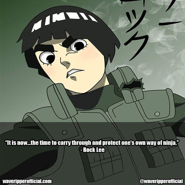 rock lee quotes 4