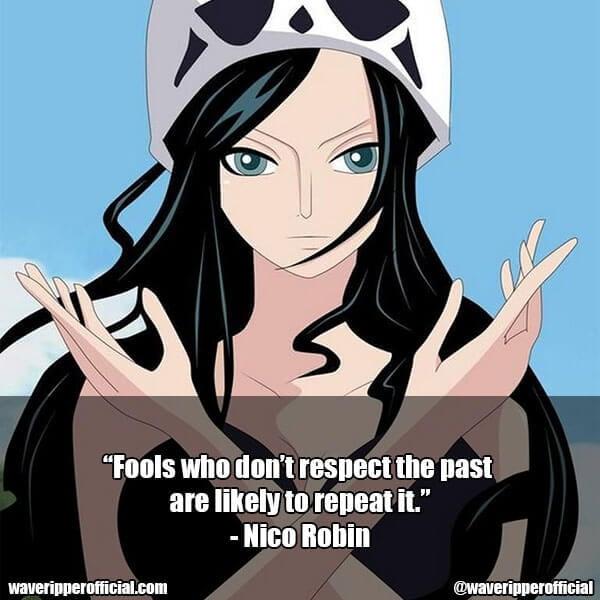 Nico Robin quotes 1