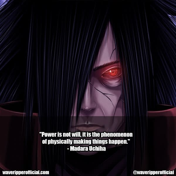 madara uchiha quotes 12