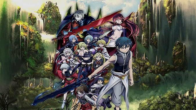 harem anime series