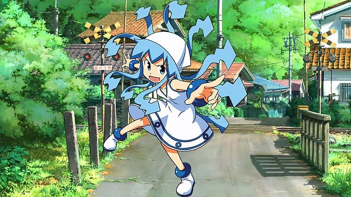 Squid Girl - Anime Characters with Long Hair