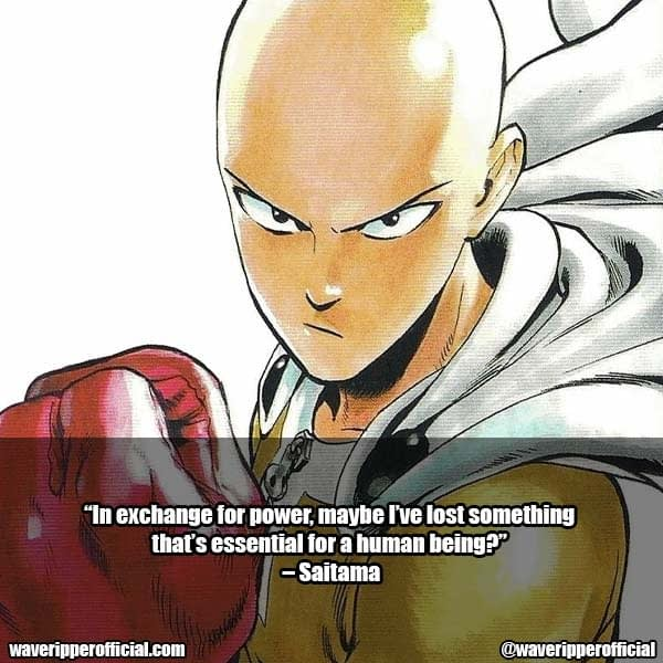 Saitama Quotes 2