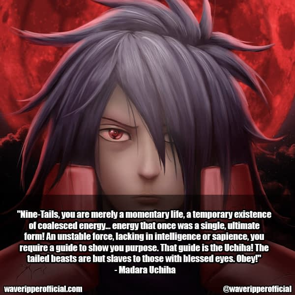madara uchiha quotes 11