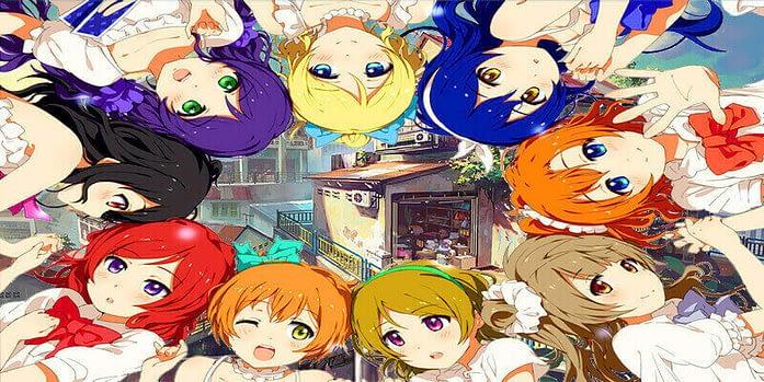 love live school idol project characters cute