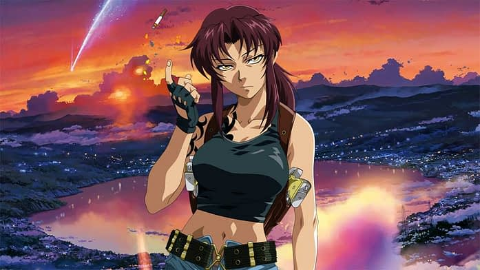 anime girls with brown hair - Revy
