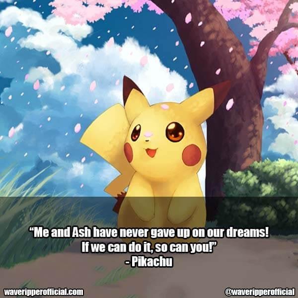 Pikachu quotes pokemon