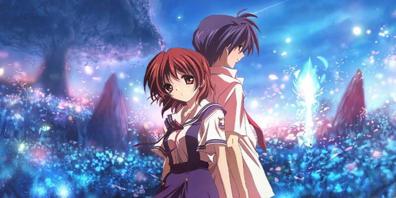 Nagisa and Tomoya Anime