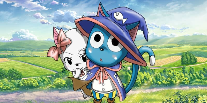 Happy and Charle fairy tail couples