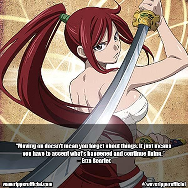 Erza Scarlet Quotes 10
