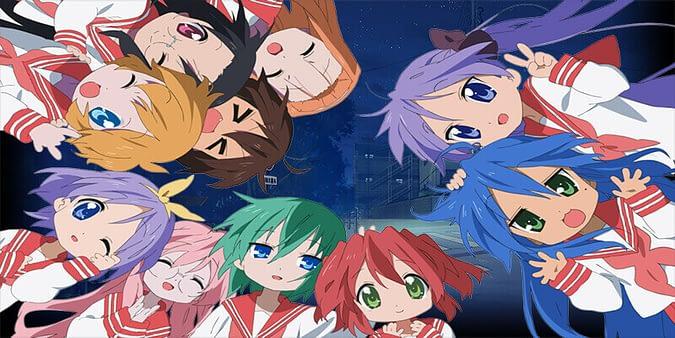 Lucky star anime series