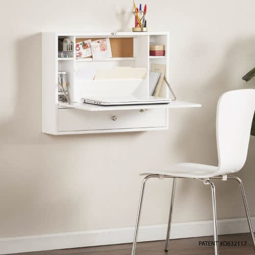 Wall Mounted Folding Desk From Southern Enterprises