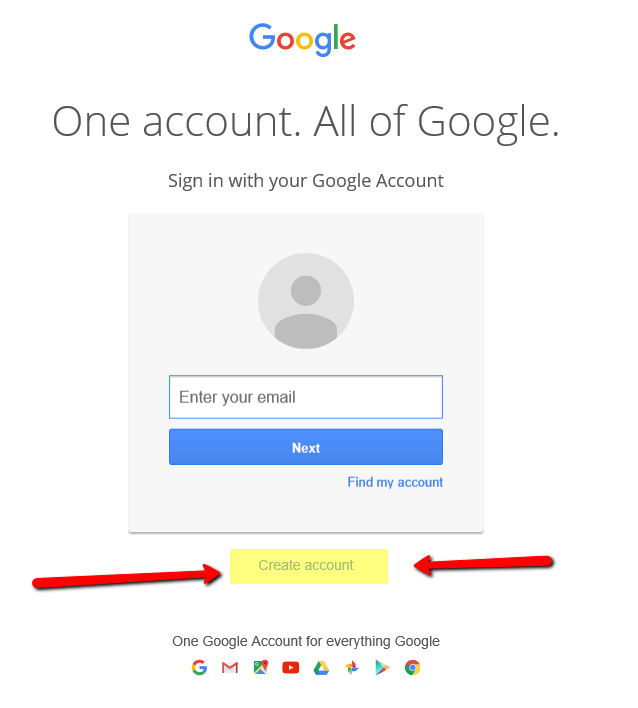 Creating a YouTube Channel while Having No Previous Google Account