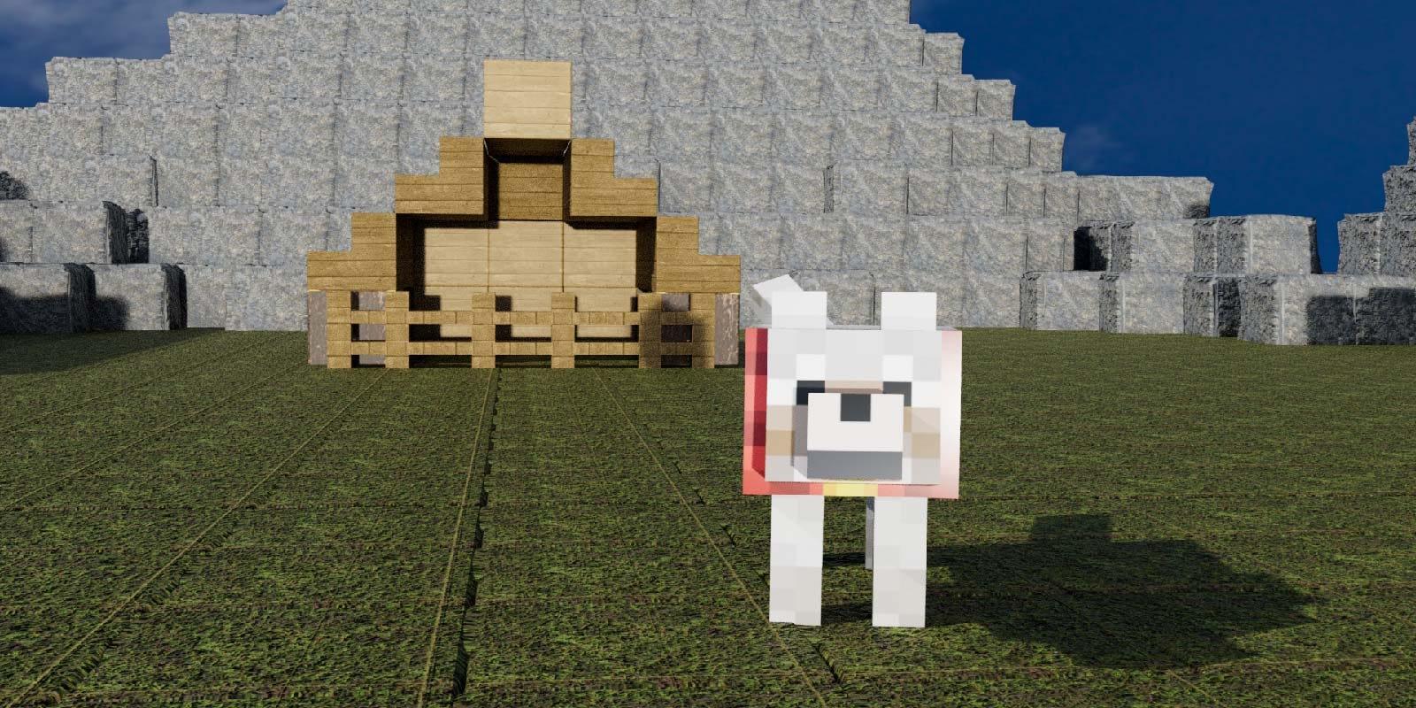 Minecraft Dog House